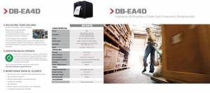 Impresora térmica de etiquetas a doble cara Toshiba Tec EA4D