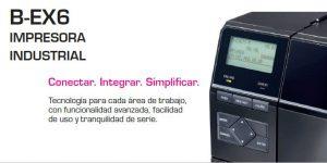 Presentamos la Nueva Impresora Industrial Toshiba Tec B-EX6