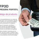Presentamos las Nuevas impresoras portátiles Toshiba B-FP3D