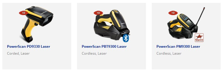 Powerscan9300-Series-1D-Laser-scanners