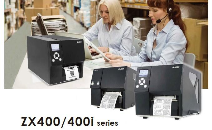 En este momento estás viendo Presentamos la Nuevas Impresora Industriales Godex ZX400/400i Series