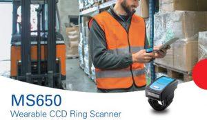 Presentamos el Ring Scanner CCD Bluetooth MS650 de Unitech