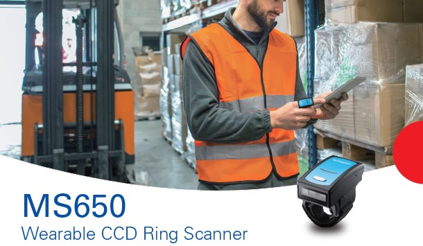Presentamos el Ring Scanner CCD Bluetooth MS650 de Unitech